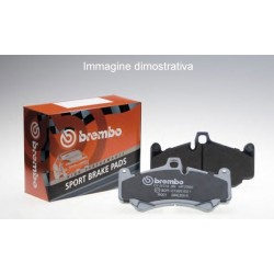 Brembo P11024 kit pastiglie freno posteriore