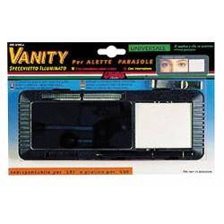 Vanity specchietto illuminato per alette parasole 210x80x25 mm