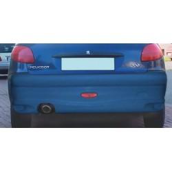 Paraurti posteriore in vetroresina Style Maxi