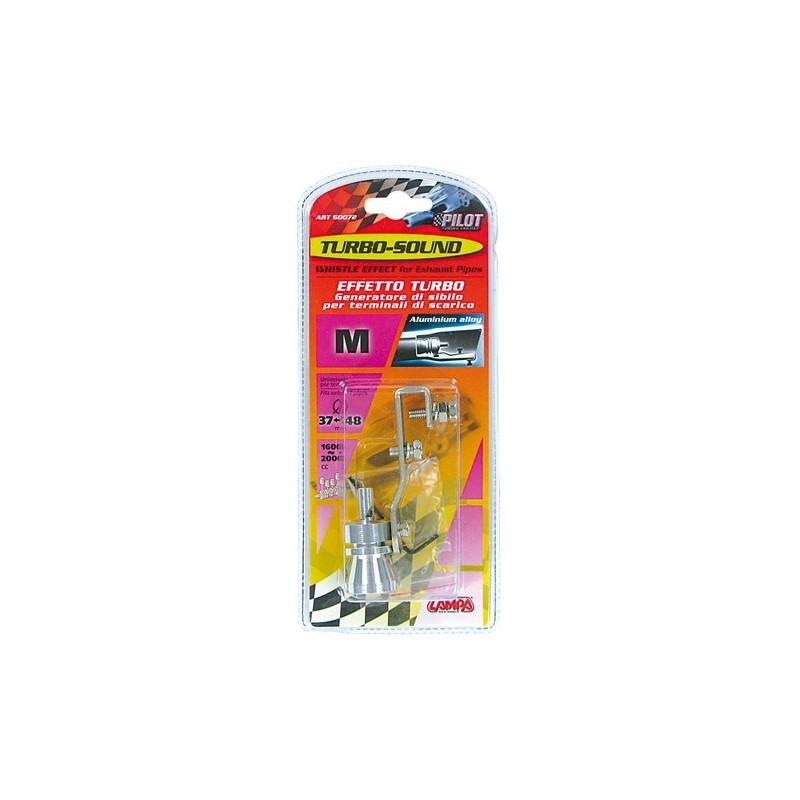 Turbo Sound M per terminale di scarico diametro 37/48 mm