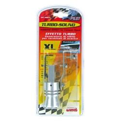 Turbo Sound XL per terminale di scarico diametro 58/85 mm