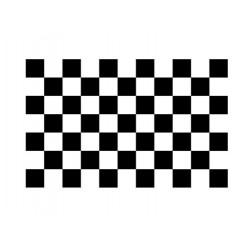Scacchiera Tetto cm 165x210 nero