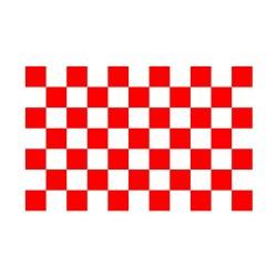 Scacchiera Tetto cm 165x210 rosso