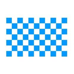 Scacchiera Tetto cm 165x210 blu