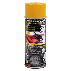 Vernice spray per interni in vinile similpelle e pvc giallo zafferano