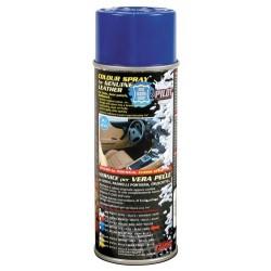 Vernice spray per interni in pelle blu