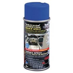 Vernice spray effetto pelle di bufalo blu