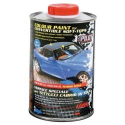 Vernice speciale tettucci cabrio in tela blu