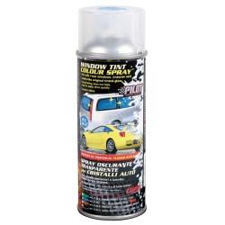 Spray oscurante trasparente per cristalli auto blu