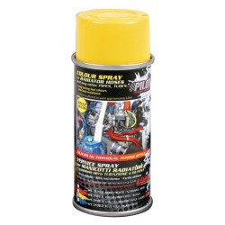 Vernice spray per manicotti radiatore giallo