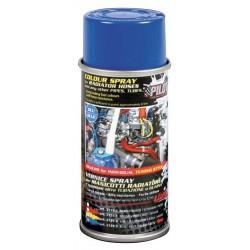 Vernice spray per manicotti radiatore blu