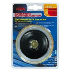 Avvisatore acustico diametro 100 mm 12V Tono basso