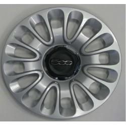 Kit 4 copricerchi coppa ruota Fiat 500 L diametro 15