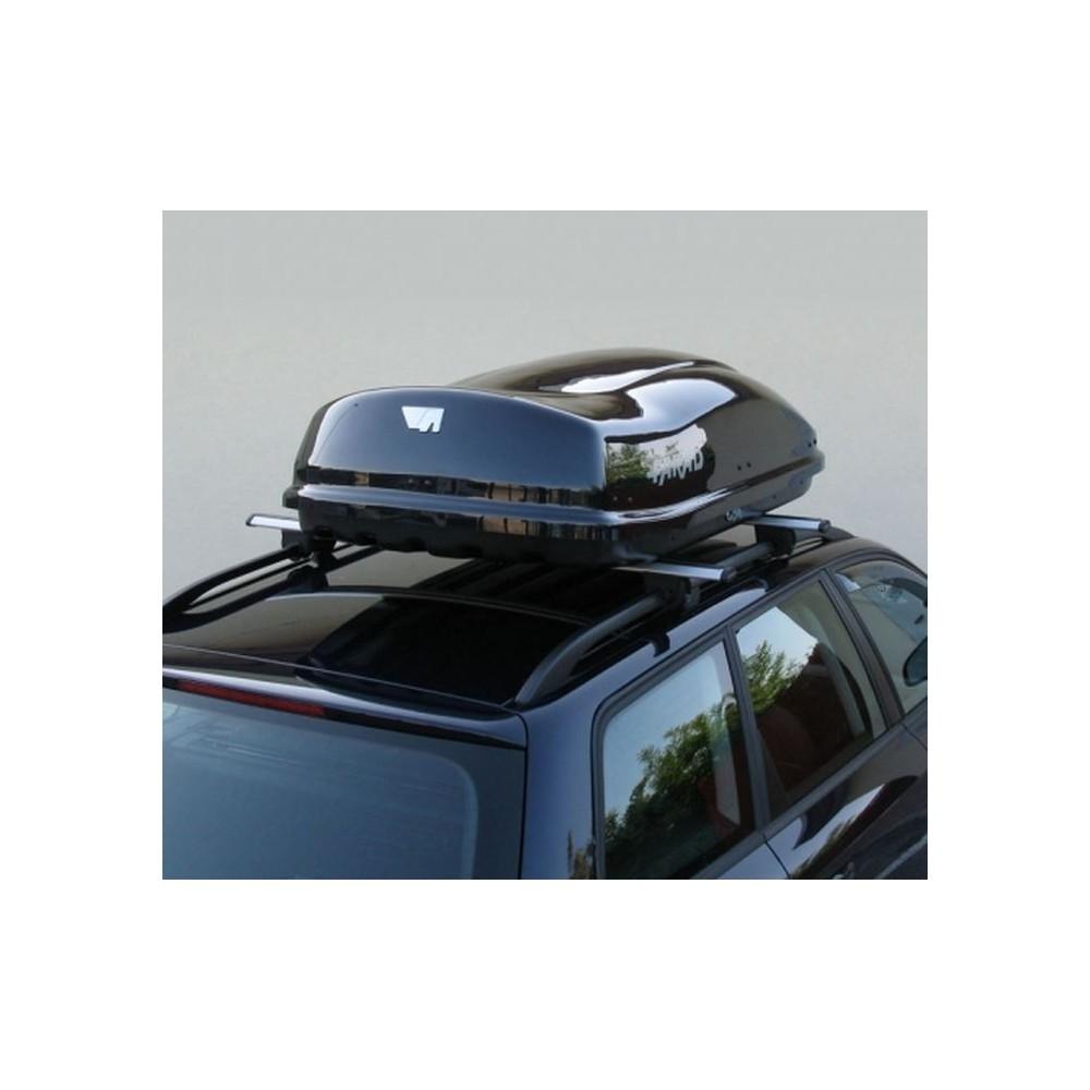 Box Baule Portatutto Auto Farad ZEUS 400 LT Nero Lucido