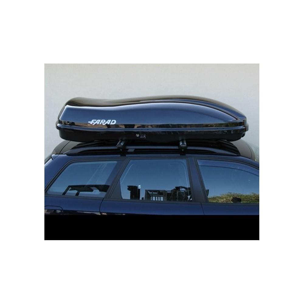 Farad Marlin F3 Box baule portapacchi 680 lt grigio satinato